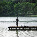 angler, rain, hunting