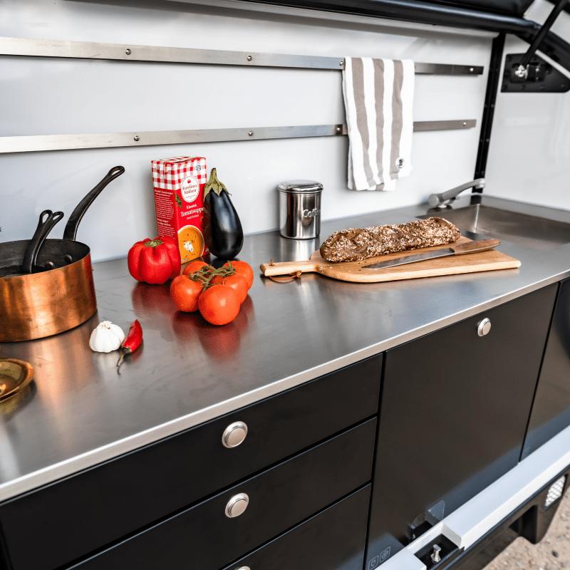 Hero Camper Kitchen Facilities