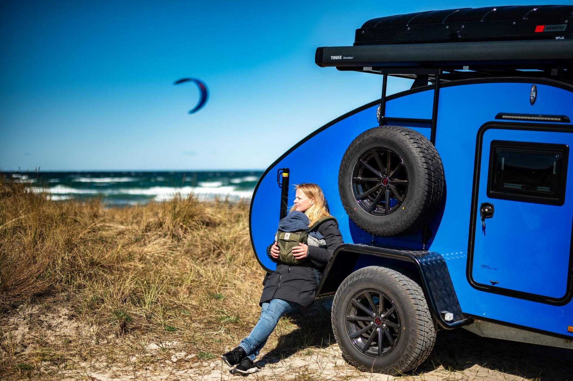 Blue Hero Camper Ranger