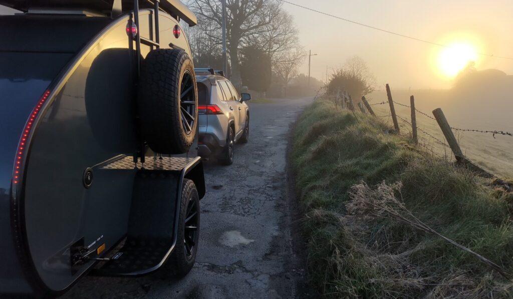 Hero Camper Ranger in the early morning