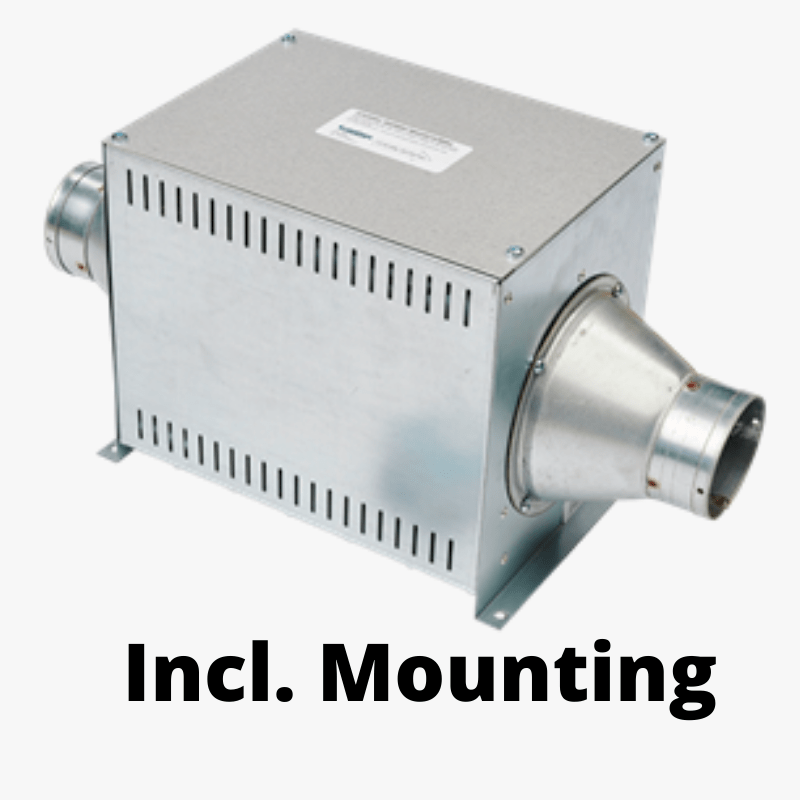 Heat 1500+ incl. mounting