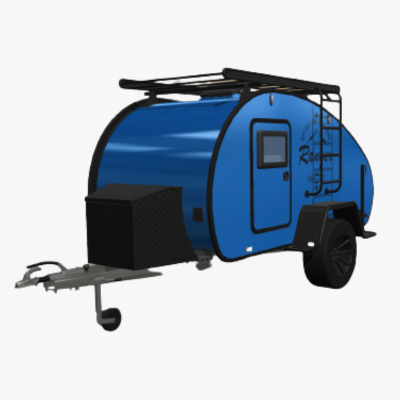 Blue Hero Camper